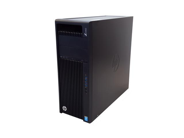 Refurbished: HP Z440 Workstation E5-1650 v3 3.50GHz 6-Cores 32GB DDR4 NVIDIA Quadro K600 NEW 512GB SSD Windows 10 Professional