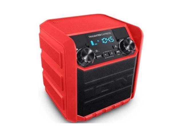 Ion Audio 20W Compact Water-Resistant Wireless Speaker System (Red) - Tailgater Express