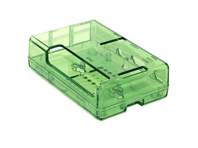 Green Raspberry Pi 2 Open Case