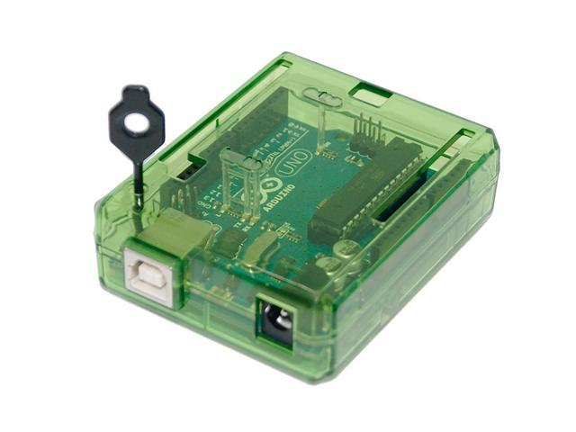 Arduino YUN Case Transparent - Green