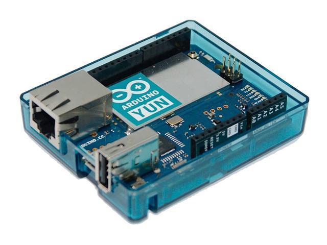 Arduino YUN Case Transparent (Blue)