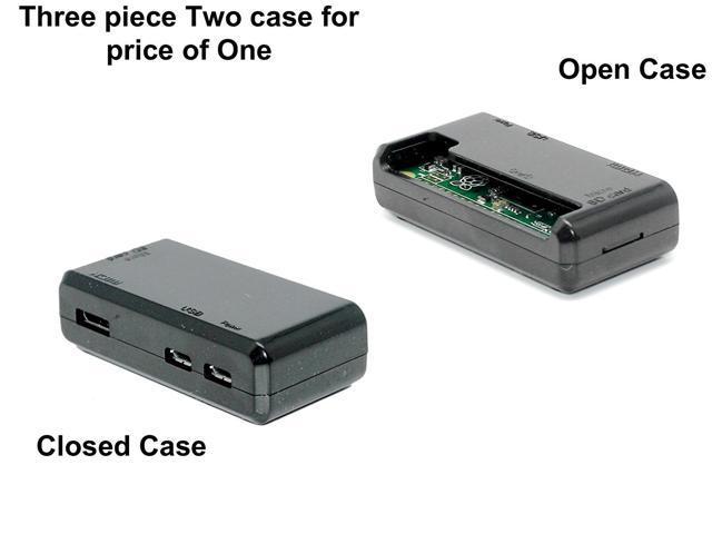 "Raspberry Pi Zero Case ""ACCESS to all Ports"" - Black"