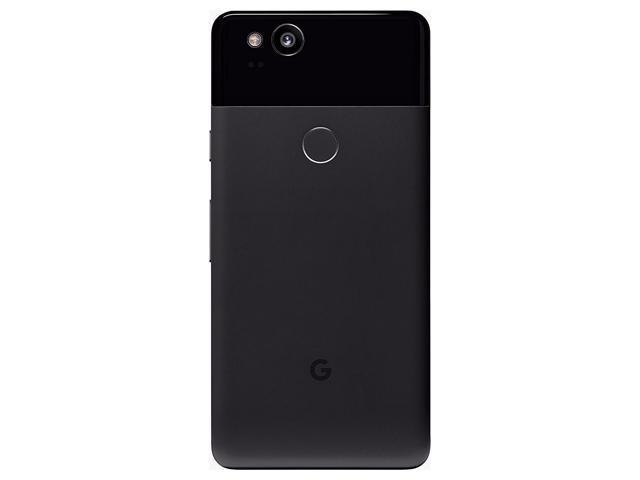 "Refurbished: Google Pixel 2 64GB GSM + CDMA Factory Unlocked 5"" AMOLED Display 4GB RAM 12.2MP Smartphone - Just Black - OEM"