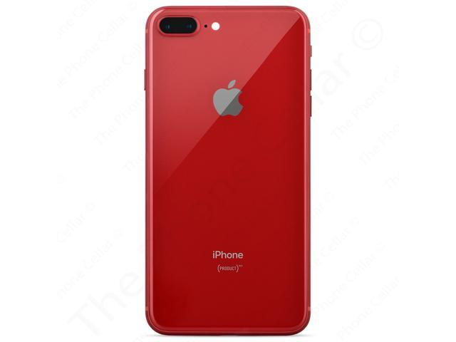 "Refurbished: Apple iPhone 8 Plus A1897 5.5"" iOS - Sprint - 64GB Smartphone - Red"