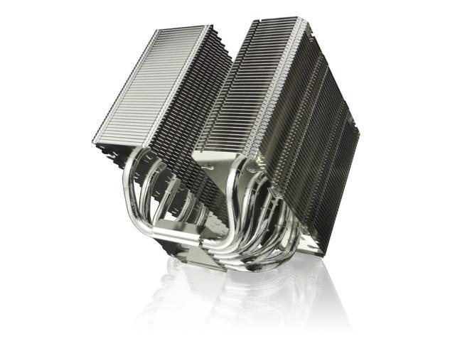 RAIJINTEK TISIS BLACK, Dual-Tower CPU Cooler, 5* 8mm Heat-Pipe, 2*14025mm PWM fans, install 3 fans, Fully Nickel Plating, Copper Base, Multiple Mouting Kit for Intel & AMD