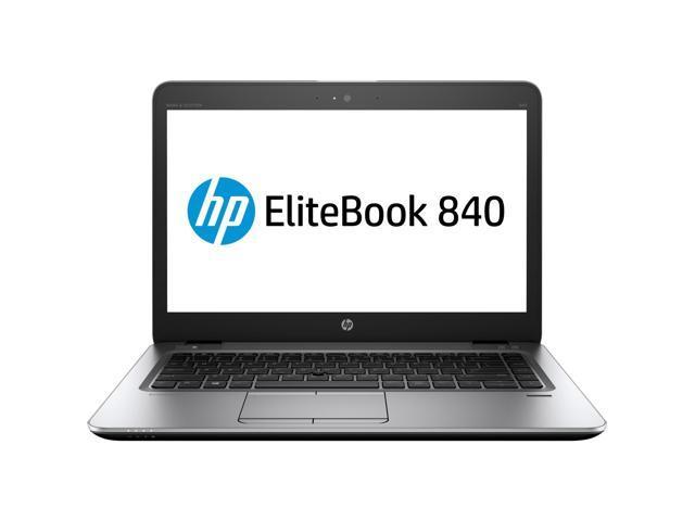 "HP Laptop EliteBook 840 G3 (T6F46UT#ABA) Intel Core i5 6th Gen 6200U (2.30 GHz) 8 GB Memory 256 GB SSD Intel HD Graphics 520 14.0"" Windows 7 Professional 64-Bit (Windows 10 Pro downgrade)"