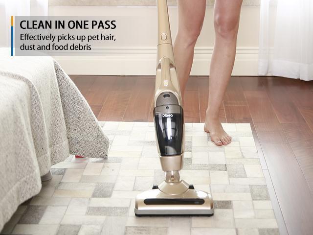 Dibea Cordless Handheld Stick Vacuum Cleaner For Pet Hair Hardwood