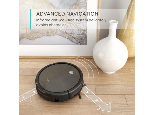 Refurbished: [Power Boost Tech] eufy RoboVac 11+, High Suction, Self-Charging Robotic Vacuum Cleaner, Filter for Pet, Cleans Hard Floors to Medium-Pile Carpets