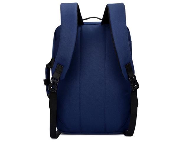 SOCKO 17 Inch Laptop Backpack with Side Handle and Shoulder Strap,Travel Bag Hiking Knapsack Rucksack College Student Shoulder Back Pack for Up to 17 Inches Laptop Notebook Computer, Black