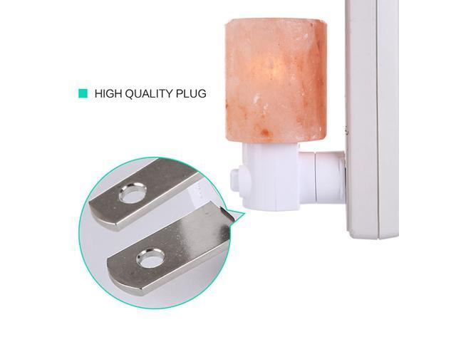 Himalayan Salt Night Light Natural Crystal Lamp Air Purifier Home Wall Deco