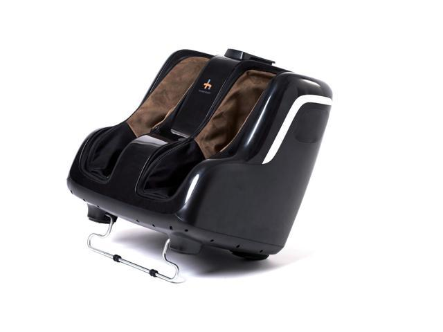 Refurbished: Human Touch Reflex SOOTHE Foot & Calf Massager - Black/Brown