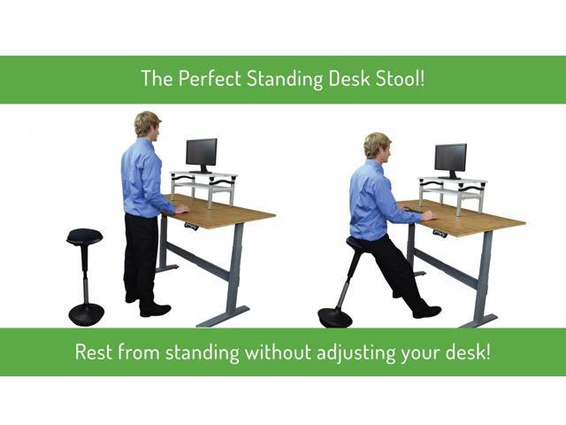 WOBBLE STOOL Adjustable Height Active Sitting Chair. The Perfect Ergonomic  Standing Desk Office U0026 Bar ...