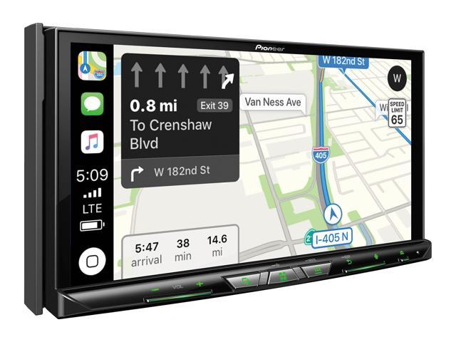 """Pioneer AVIC-W8400NEX Navigation/DVD/CD receiver with 7"""" touchscreen and AM/FM tuner"""