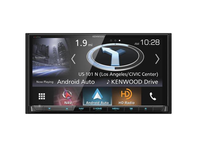 """Kenwood DNX994S 6.95"""" Navigation/DVD Receiver with CarPlay and Android Auto"""