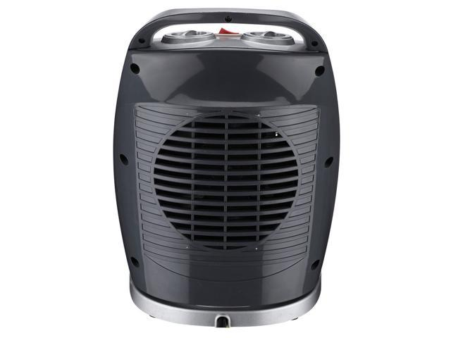 Homeleader Space Heater NSB-200C3H, Oscillating Ceramic Portable Heater with Built-in Adjustable Thermostat, 750W/1500W