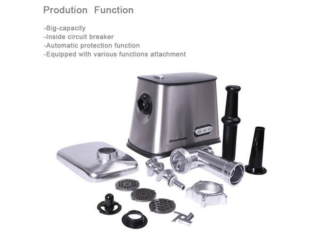 Homeleader Electric Meat Grinder, Silver