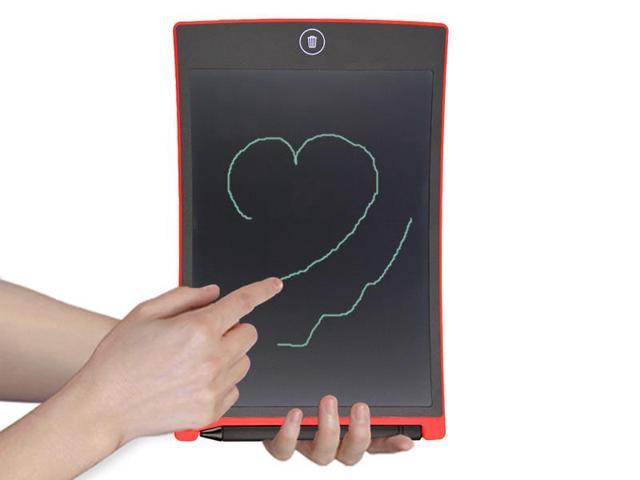 "Tritina 8.5"" Board LCD Graphics Drawing Tablet Mini Writing Tablet Writing Board as Whiteboard Bulletin Pad Memo Board With stylus((Red)"