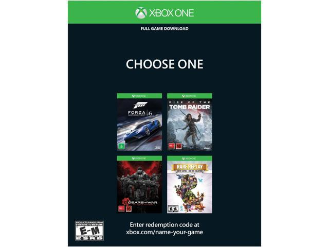Refurbished: Microsoft Xbox One 500GB Console - Name Your Game Bundle