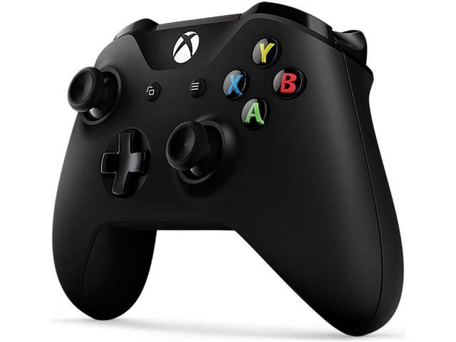Refurbished: Microsoft Xbox One Wireless Controller - Wireless - USBXbox One - 18 ft Operating Range - Force Feedback - Black