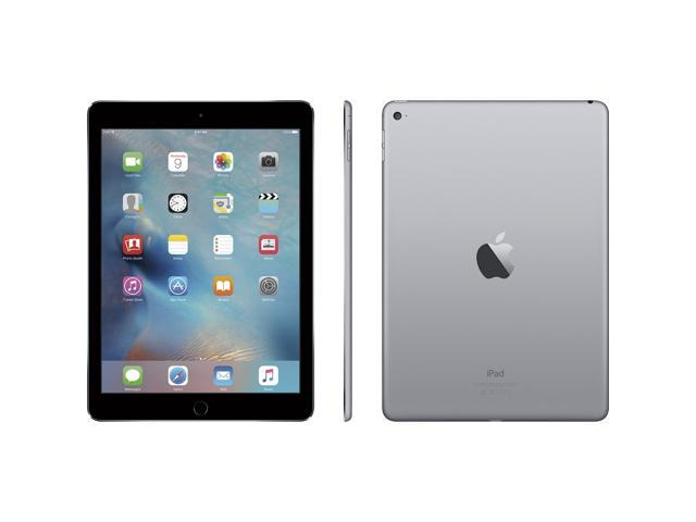 "Refurbished: Apple iPad Air 2 64GB Retina Display 9.7"" MGKL2LL/A WiFi Space Gray"
