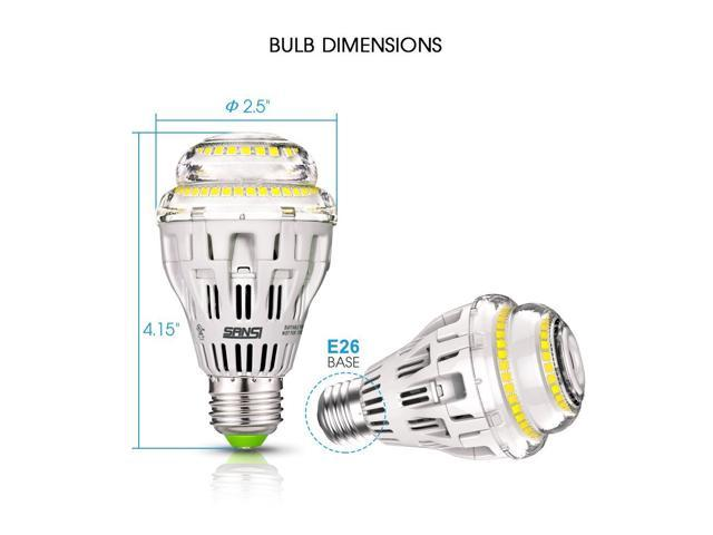 sansi 15w led light bulb  equal to 100w