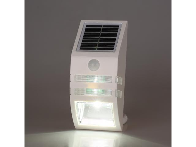 Outdoor Solar Powered LED Security Wall Lights Wireless Waterproof Motion  Sensor For Patio, Deck, ...