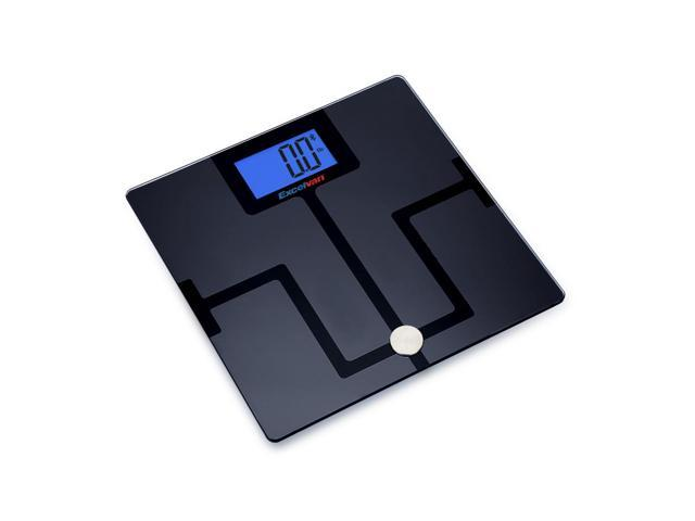 Excelvan Smart Wireless Bluetooth Digital Body Fat Scale Bathroom Bmi Bmr With Free For