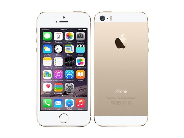 Refurbished: Apple iPhone 5S A1533 16GB Unlocked Smartphone - Gold