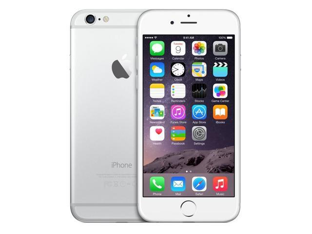Refurbished: Apple iPhone 6 A1549 4.7'' GSM Unlocked Smartphone 16GB (A STOCK) - SILVE