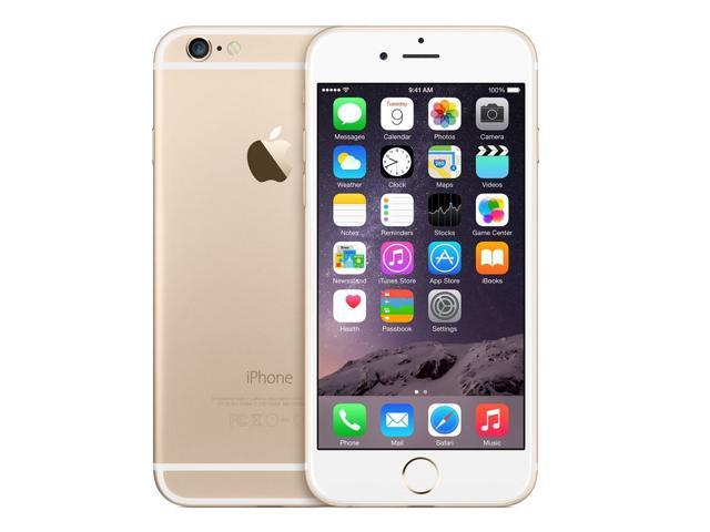 Refurbished: Apple iPhone 6 A1549 4.7'' GSM Unlocked Smartphone 64GB (A STOCK) - Gold