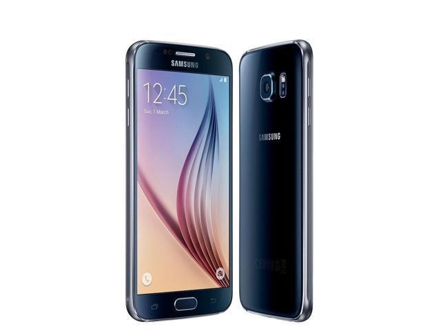 Refurbished: Samsung Galaxy S6 SM-G920A 5.1'' 32GB Unlocked Smartphone, Black