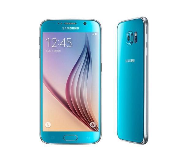 Refurbished: Samsung Galaxy S6 SM-G920A 5.1'' 32GB Unlocked Smartphone, Blue