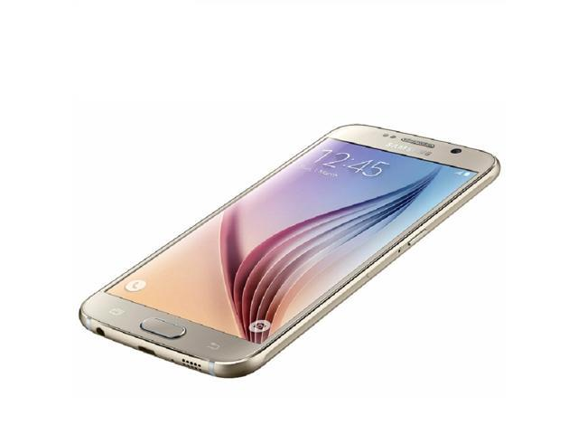 Refurbished: Samsung Galaxy S6 SM-G920A 5.1'' 32GB Unlocked Smartphone, Gold