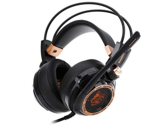 Somic G941 Active Noise Cancelling USB Gaming Headset  7.1 Virtual Surround Sound with Mic Vibrating Function