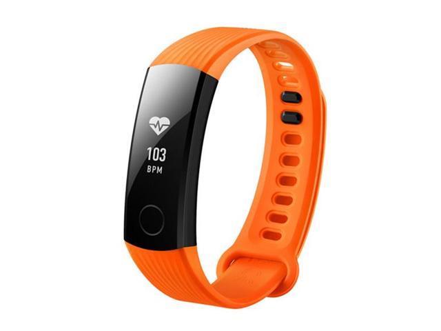HUAWEI Honor Band 3 Smartband Heart Rate Monitor Calories Consumption Pedometer NFC, Orange