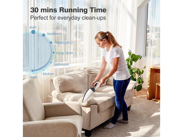 ZIGLINT Y8 Cordless Handheld Vacuum Cleaner