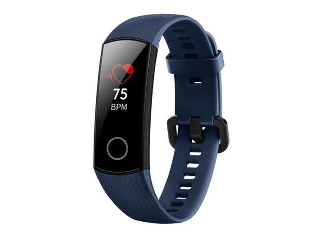 HUAWEI Honor Band 4 Smart Bracelet 0.95 Inch Bluetooth 4.0 Call / Message Reminder Heart Rate Monitor Blood Pressure Functions Blue