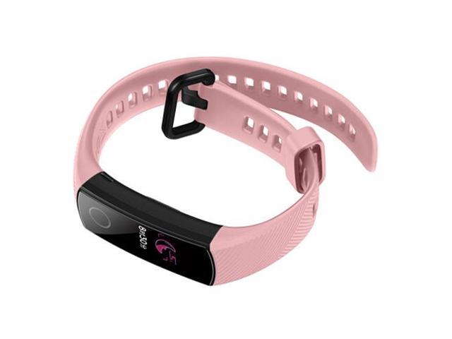 HUAWEI Honor Band 4 Smart Bracelet 0.95 Inch Bluetooth 4.0 Call / Message Reminder Heart Rate Monitor Blood Pressure Functions Pink