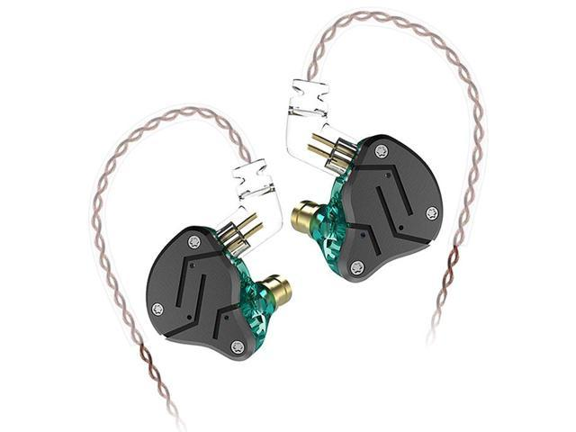 KZ ZSN Wired Noise-canceling In Ear Earphones with Mic Medium Turquoise