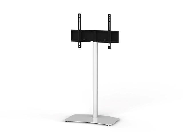 "Sonorous PL-2800 Modern TV Floor Stand Mount / Bracket For Sizes up to 60"" (Steel Construction) - White"