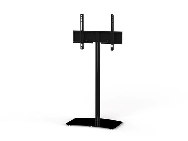 "Sonorous PL-2800 Modern TV Floor Stand Mount / Bracket For Sizes up to 60"" (Steel Construction) - Black"