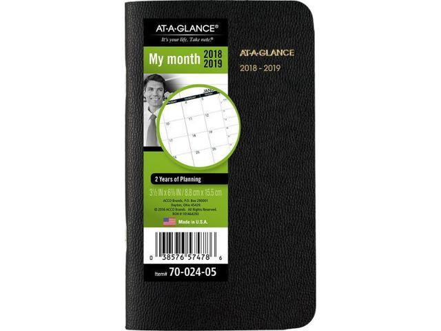 at a glance 2 year monthly pocket planner pocket planners