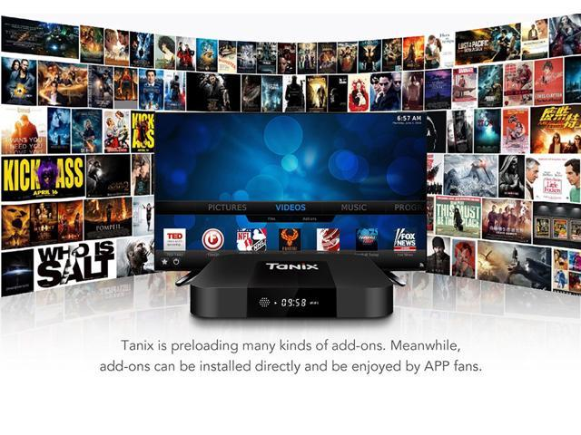 Tanix TX3 Mini Amlogic S905W 2G RAM 16G ROM Android7.1 4K TV Box