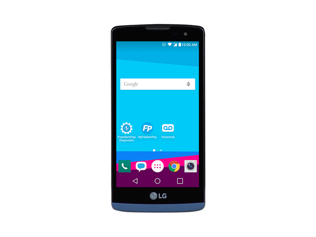 Refurbished: LG Tribute 2 LTE w/ 100% Free Mobile phone Service - FreedomPop
