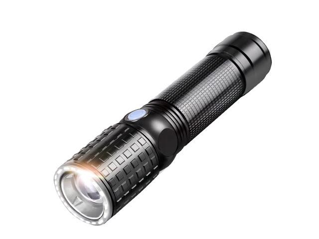 YAGE Tactical Flashlight CREE T6 10W Zoom 2000LM 18650 LED Flashlight Touch USB Hunting Flashlight Portable Lantern Self defense 341C