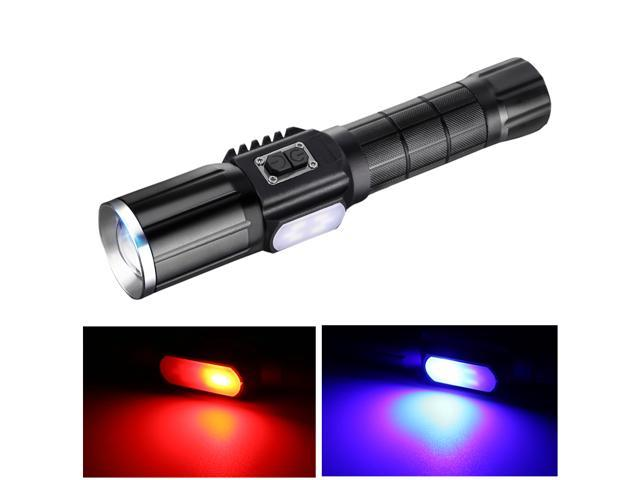 YAGE Flashlight T6 2000LM Lanterns Zoom CREE LED Flashlight USB In/Out Power Bank Warning Torch Light 18650 or AAA Battery  343C