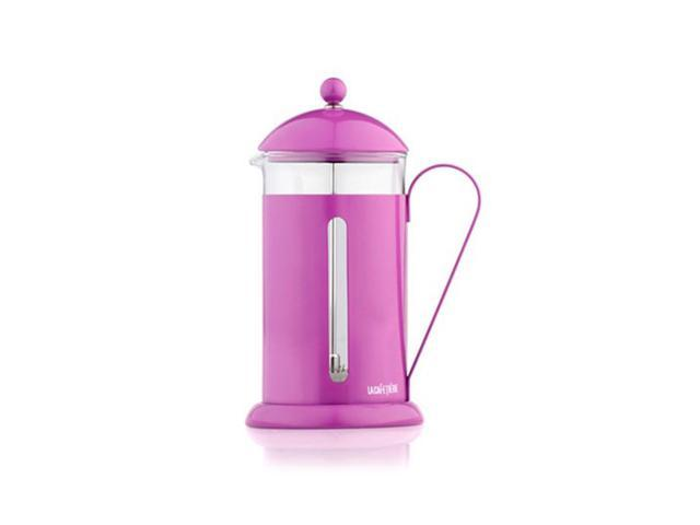 La Cafetiere - French Press Cafetiere - Heat Resistant Borosilicate Glass and Stainless Steel - Purple
