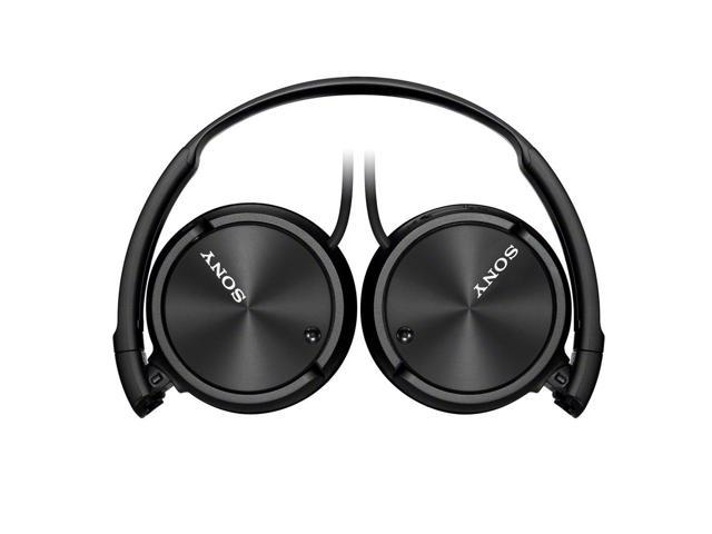 Refurbished: Sony ZX Series MDR-ZX110NC Basic Noise Cancelling On-the-Head Dynamic Headphones - Black