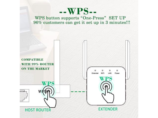 WiFi Range Extender,Awakelion 300Mbps 2.4G High Speed WiFi Booster Repeater Extends WiFi to Smart Home & Alexa Devices, 2X2 MU-MIMO,WPS, Easy Set Up