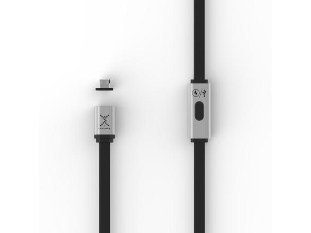 Lexuma XMAG Magnetic Micro-USB Charging High Speed Data Transfer Cable for Samsung, HTC, LG, Sony, Android Devices